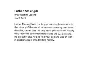 Luther Masingill signage 1 300x194 - luther-masingill-signage