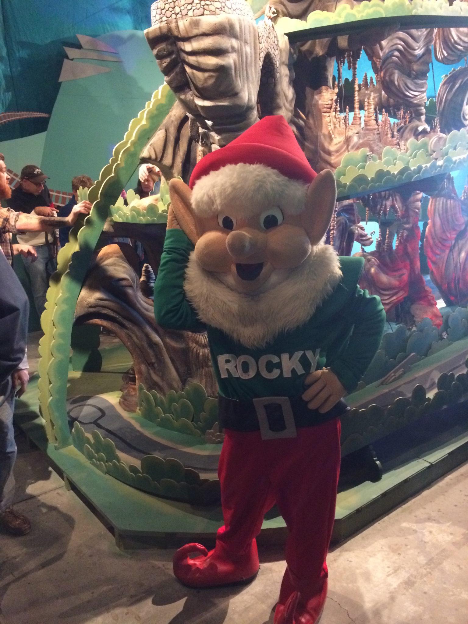 Rock City's Rocky at Wayne-O-Rama