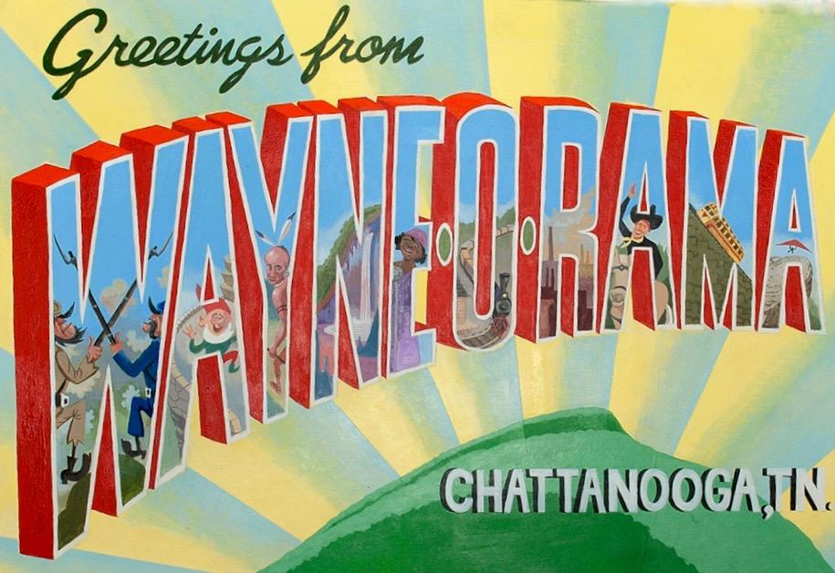 Wayne-O-Rama Chattanooga by Wayne White