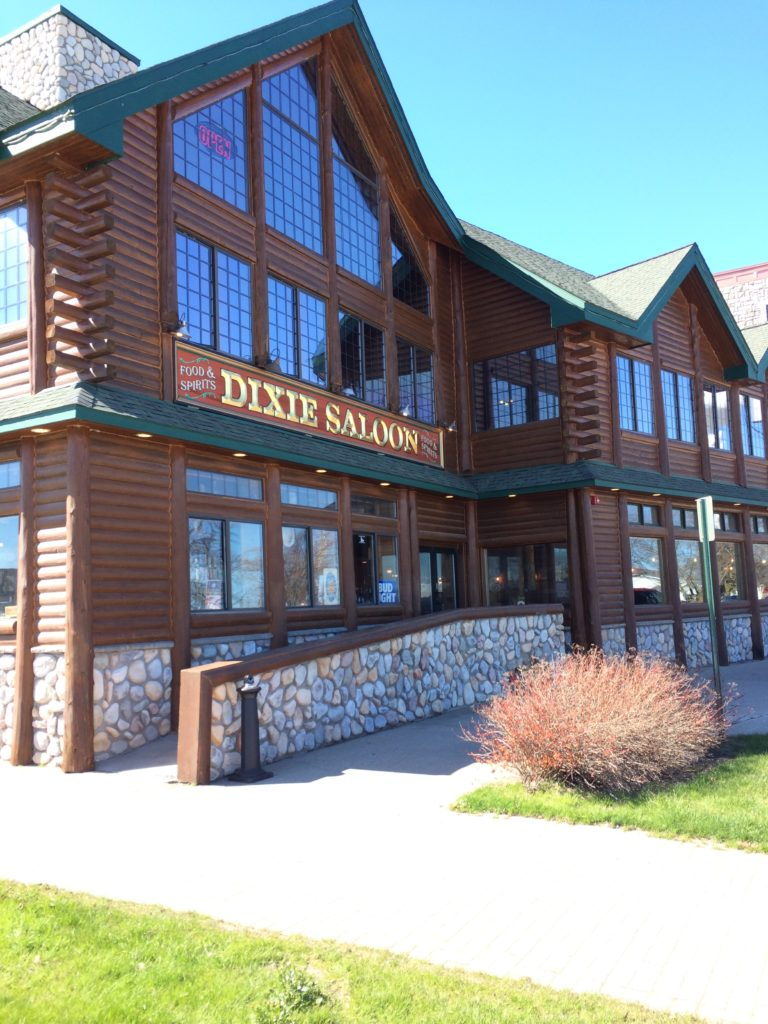 The new Dixie Saloon at Mackinaw City