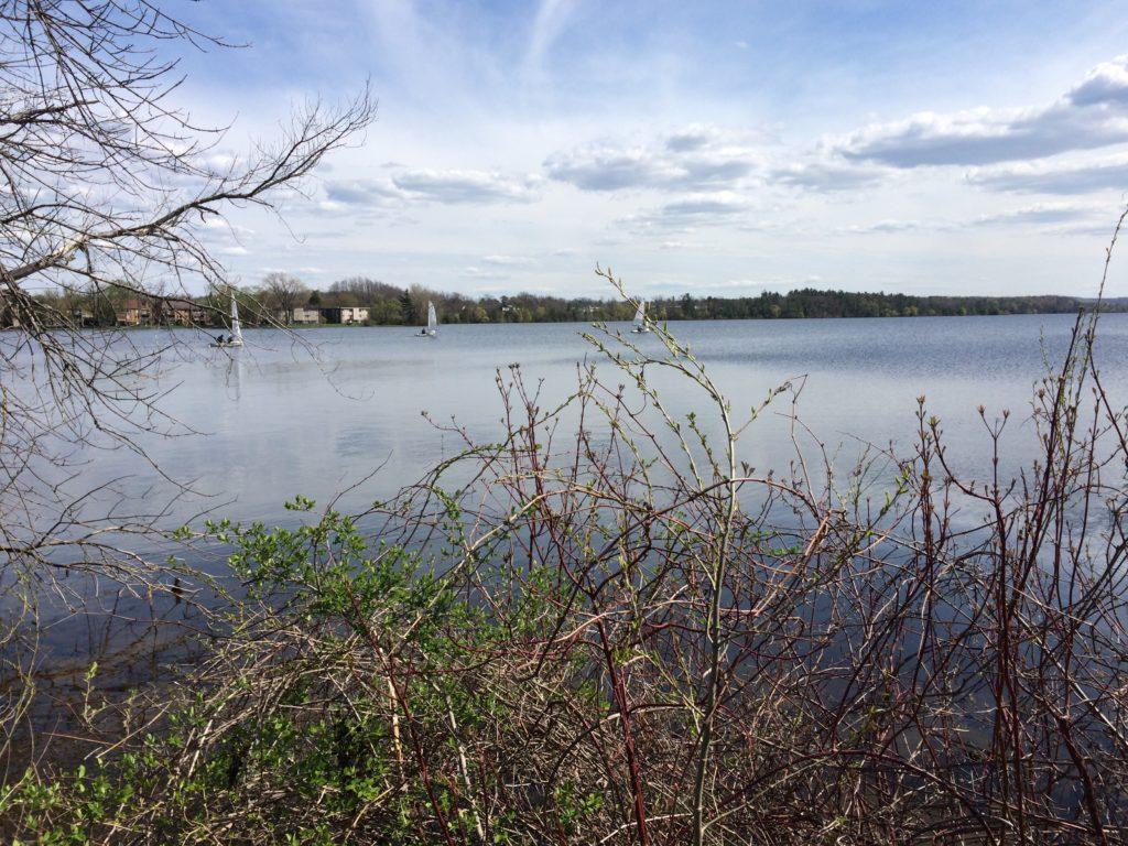 Boardman Lake at Traverse City Michigan