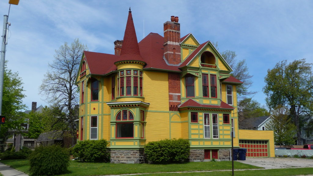 Historic homes in Bay City Michigan
