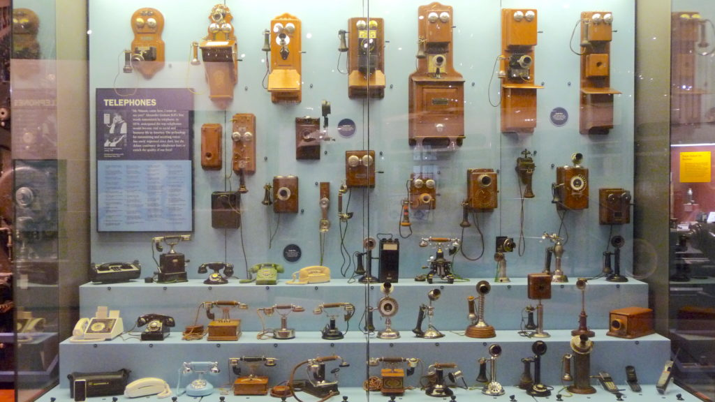 visual history of the telephone