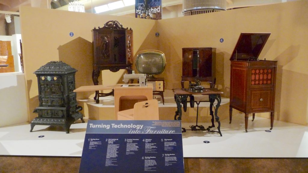 Early technology display