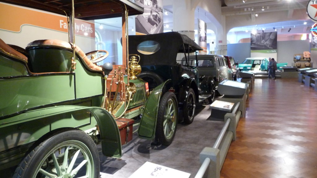 Antique cars at Henry Ford Museum