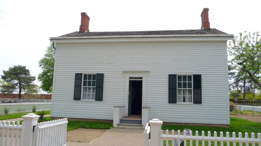Early Henry Ford home at Greenfield Village