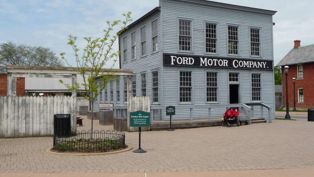Replica of the early Ford Motor Company at Greenfield Village