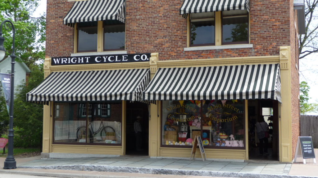 Replica of the Wright Brother's Cycle shop at Greenfield Village