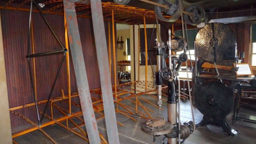 Replica of the Wright Brother's machine shop at Greenfield Village
