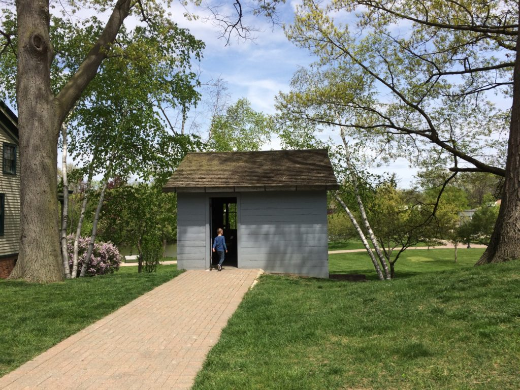 Charles Steinmetz Cabin at Greenfield Village