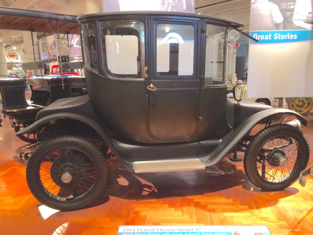 Clara Ford's electric car