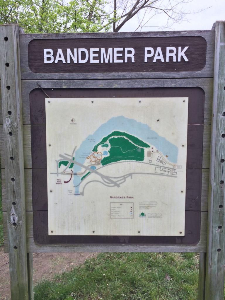 Bandemer Park sign Ann Arbor MI