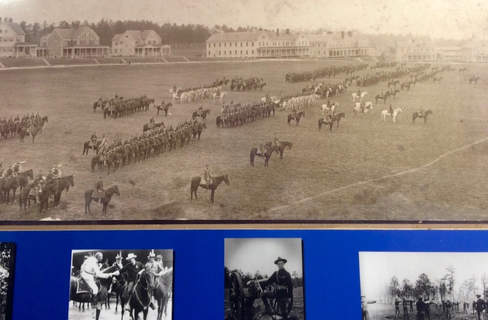 The 6th Calvary on the Parade Ground at Fort Oglethorpe