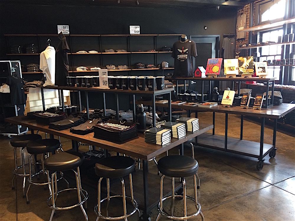 the Songbirds gift shop