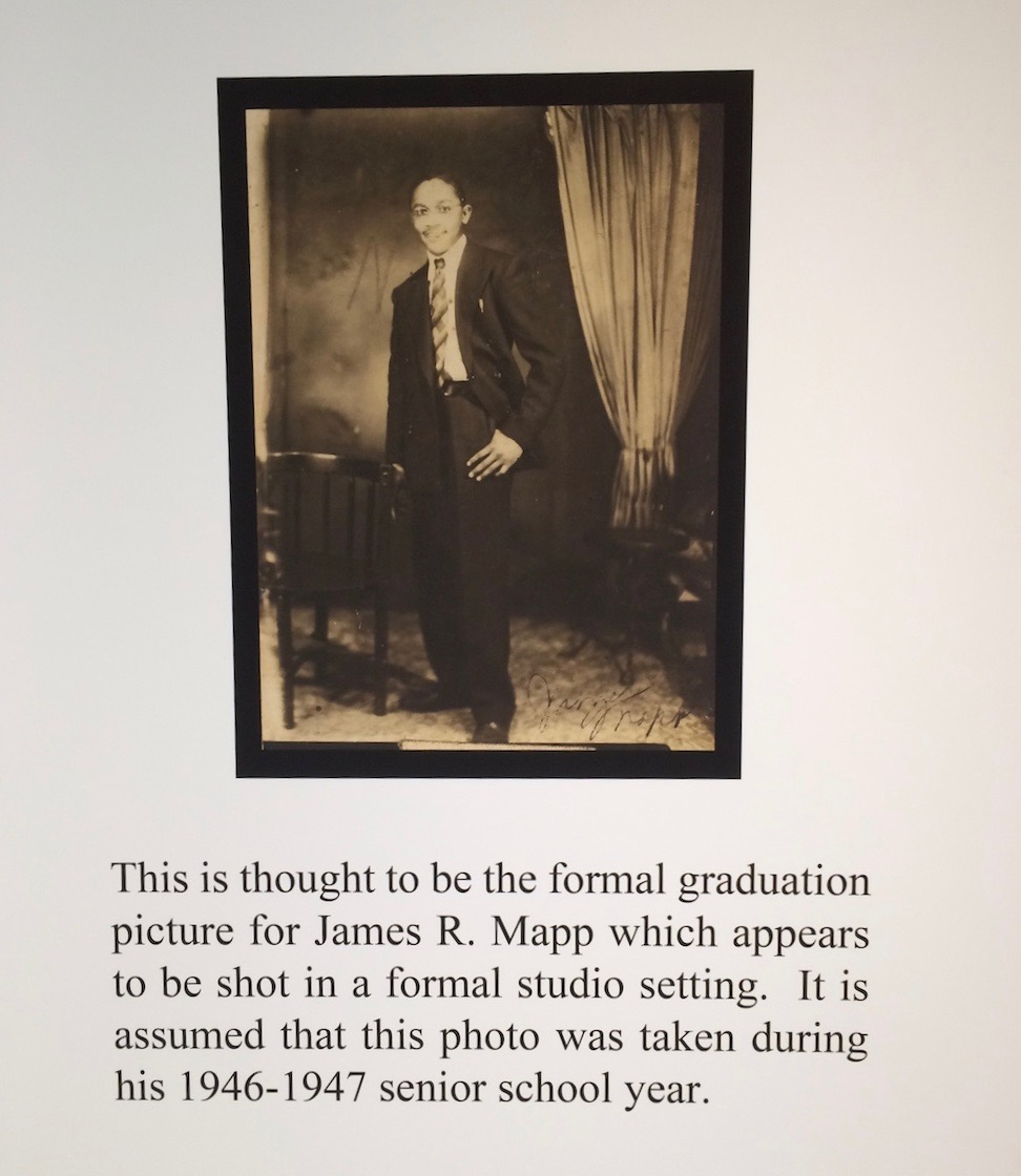 James R Mapp graduation picture