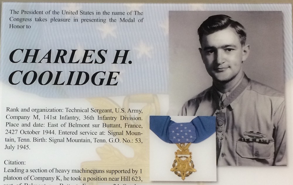 Charles H. Coolidge Medal of Honor Heritage Center – Chattanooga Museums Series 6