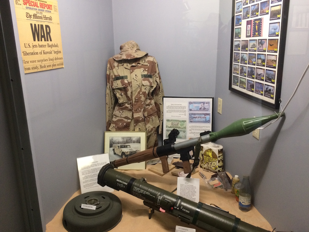 Desert Storm weapons and documents