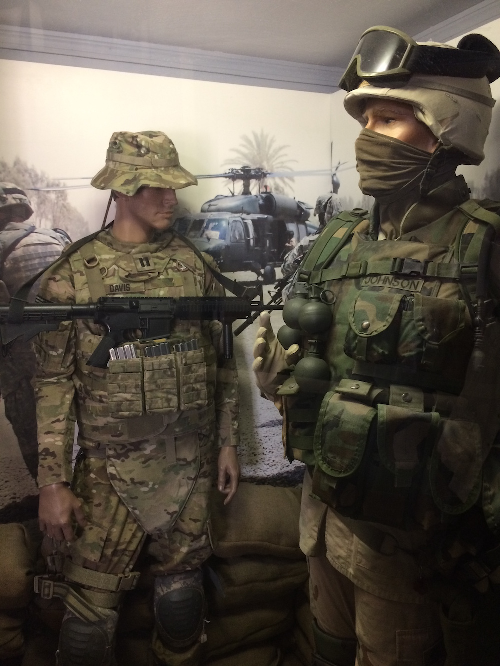 Iraq-Afghanistan War exhibit at the Charles H. Coolidge Medal of Honor Heritage Center