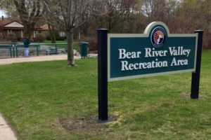 Bear River Valley Recreation Area sign 300x200 - Bear River Valley Recreation Area sign