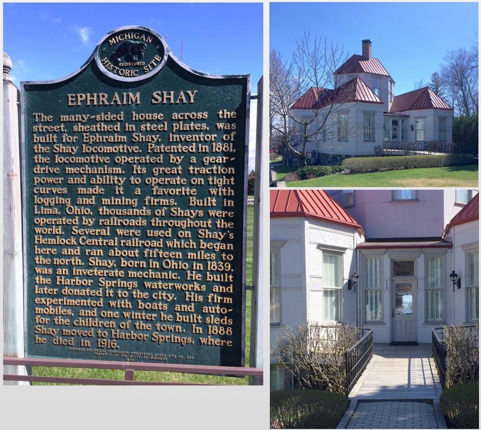 Ephraim Shay home and plaque