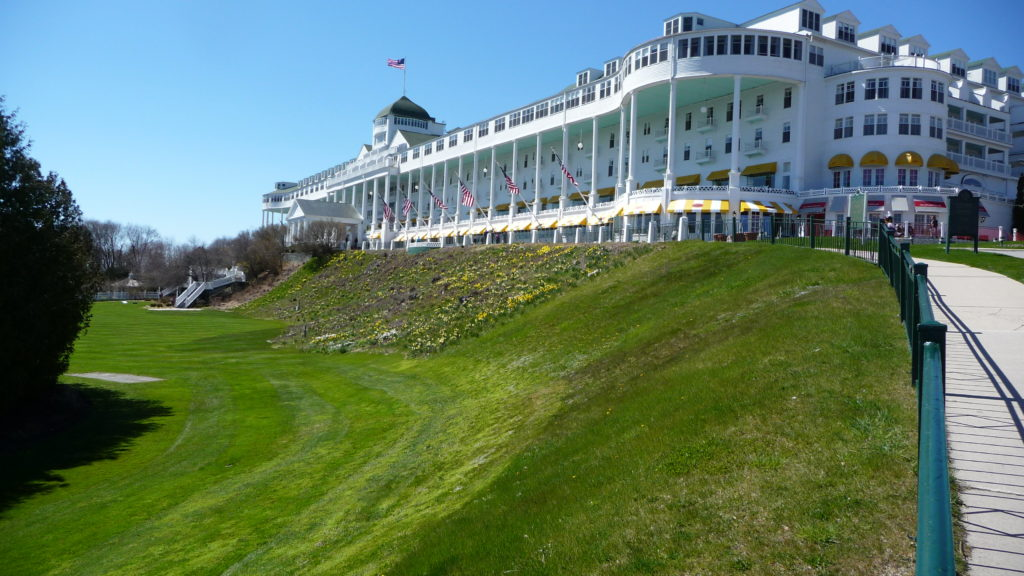 Grand Hotel on the island