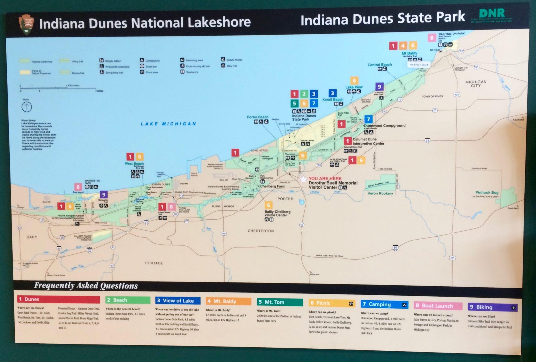 indiana dunes state park - Ecosia