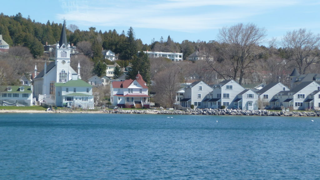 Shoreline of Mackinac Island