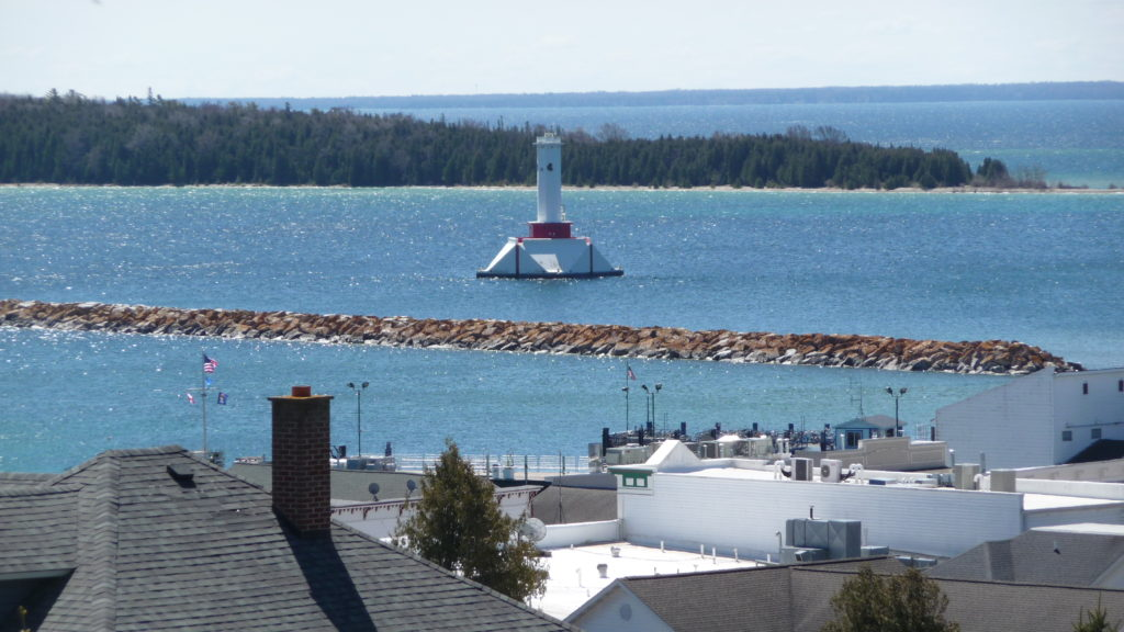 Lighthouse at Mackinac Island