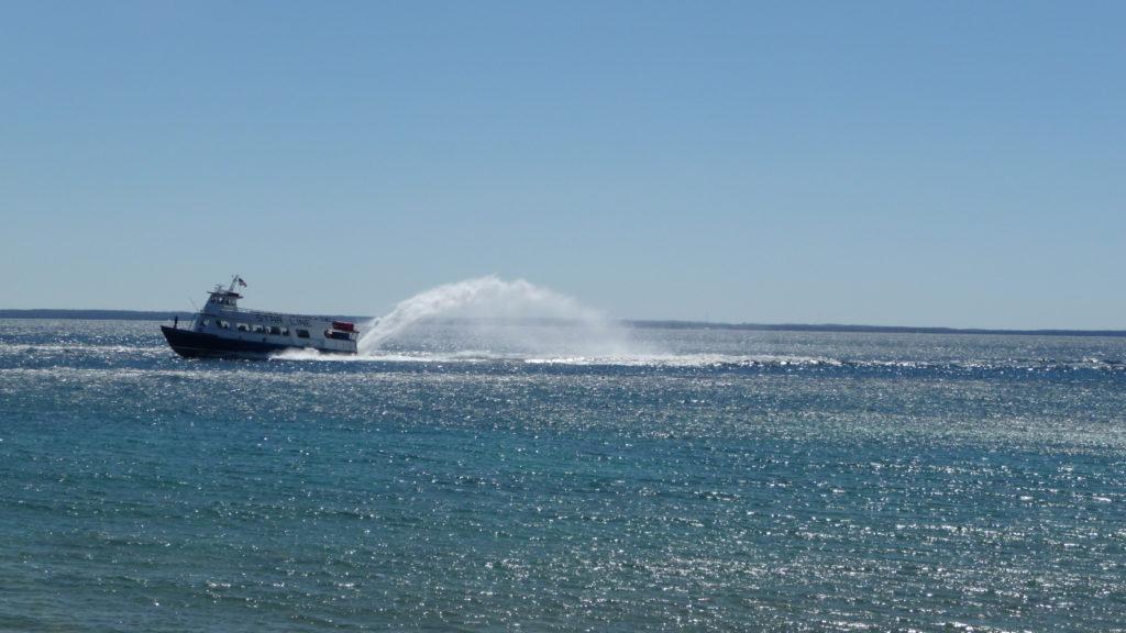 Star Line Hydro Jet in Lake Huron