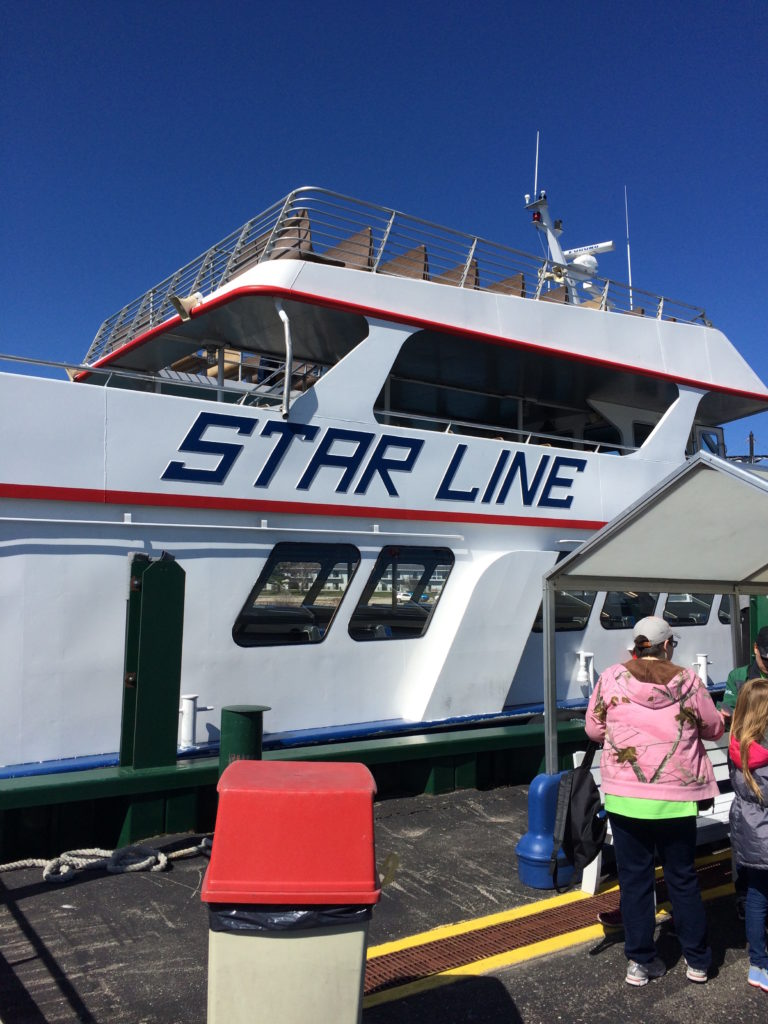 Star Line Ferry at Mackinaw City