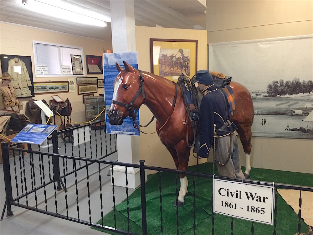 The 6th Calvary fought in the Civil War